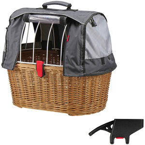 KlickFix Doggy Basket Plus  Korbklip bast bei fahrrad.de Online