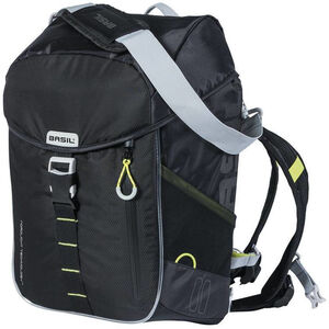 Basil Miles Backpack 17l, Northern Lights black lime black lime