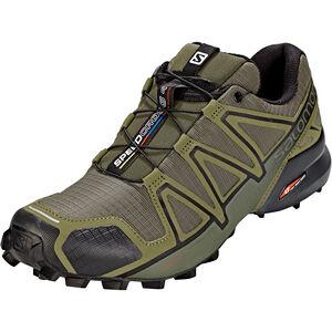 Salomon Speedcross 4 Shoes Herren grape leaf/burnt olive/black grape leaf/burnt olive/black