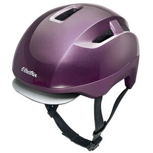 Electra Commute Helmet MIPS aubergine gloss matte bei fahrrad.de Online