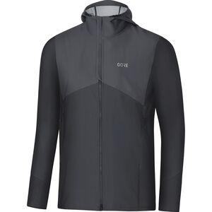GORE WEAR R3 Windstopper Hooded Jacket Herren terra grey/black terra grey/black