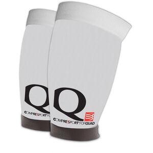 Compressport Quad Sleeves white white