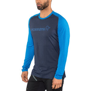 Norrøna Fjørå Equaliser Lightweight Long Sleeve Shirt Men Indigo Night bei fahrrad.de Online