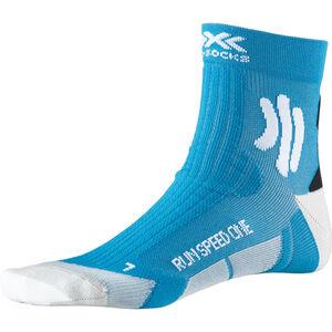 X-Socks Run Speed One Socks teal blue /arctic white teal blue /arctic white