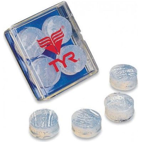 TYR Soft Silicone Earplugs