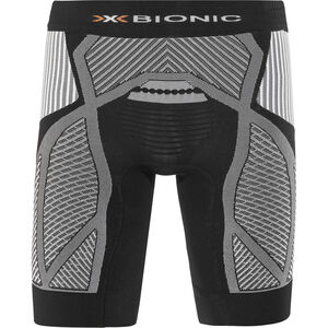 X-Bionic The Trick Running Pants Short Men Black/White bei fahrrad.de Online