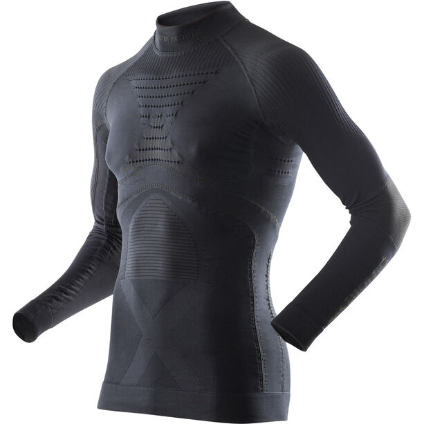 X-Bionic Accumulator Evo LS Turtle Neck Top Men black/black black/black