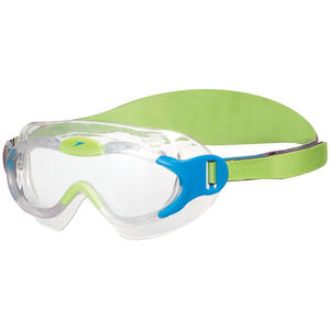 speedo Biofuse Sea Squad Mask Kinder sport blue/hydro green sport blue/hydro green