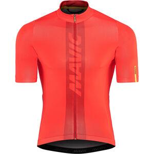 Mavic Cosmic Jersey Men Fiery Red bei fahrrad.de Online