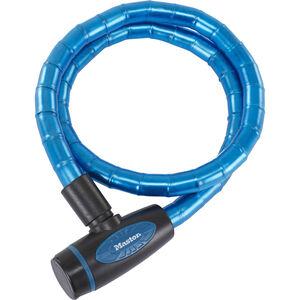 Masterlock 8228 PanzR Kabelschloss 18 mm x 1.000 mm blau blau