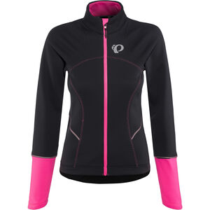 PEARL iZUMi Elite Escape Softshell Jacket Women black/screaming pink bei fahrrad.de Online