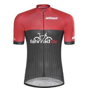 fahrrad.de Pro Race Jersey Herren black-red black-red