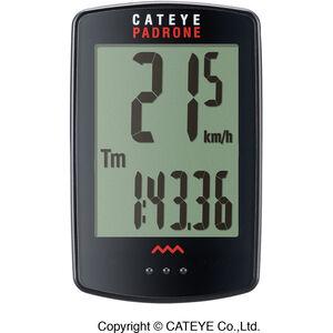 CatEye Padrone CC-PA100W Fahrradcomputer schwarz schwarz