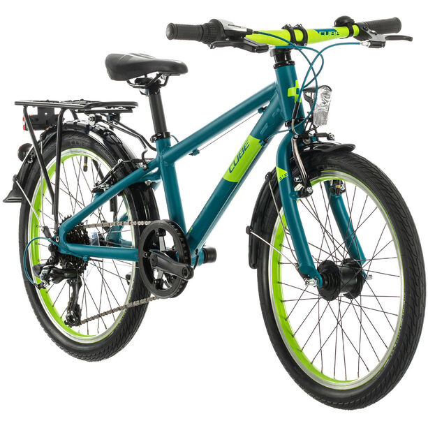 Cube Kid 200 Street Kinder petrol/green
