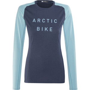 Norrøna Fjørå Equaliser Lightweight Long Sleeve Shirt Women Indigo Night/Trick Blue bei fahrrad.de Online