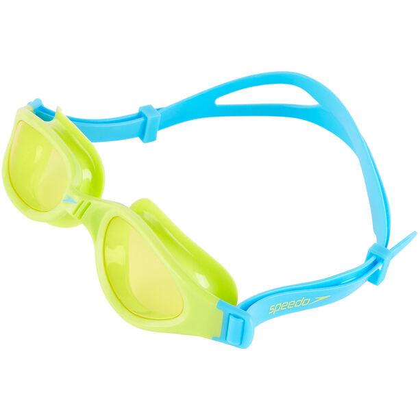 speedo Futura Plus Goggles Kinder peppermint/lime