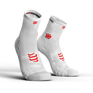 Compressport Pro Racing V3.0 Run High Socks white white