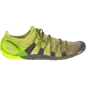 Merrell Vapor Glove 4 3D Shoes Herren olive drab/lime punch olive drab/lime punch