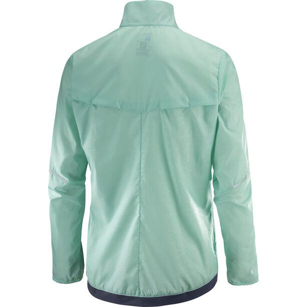 Salomon Agile Wind Jacket Damen yucca