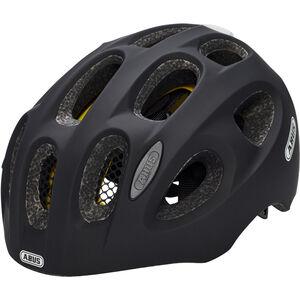 ABUS Youn-I MIPS Helmet Kinder velvet black velvet black