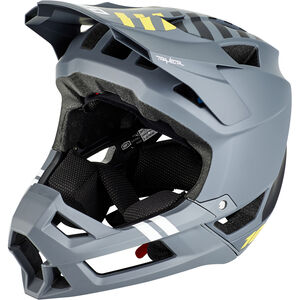 100% Trajecta Helmet charcoal charcoal