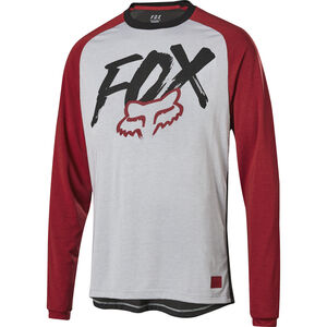 Fox Ranger Dr LS Jersey Jungs steel gray steel gray