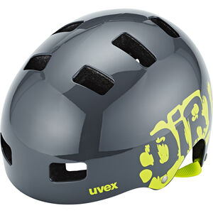 UVEX Kid 3 Helmet Kinder dirtbike gray-lime dirtbike gray-lime