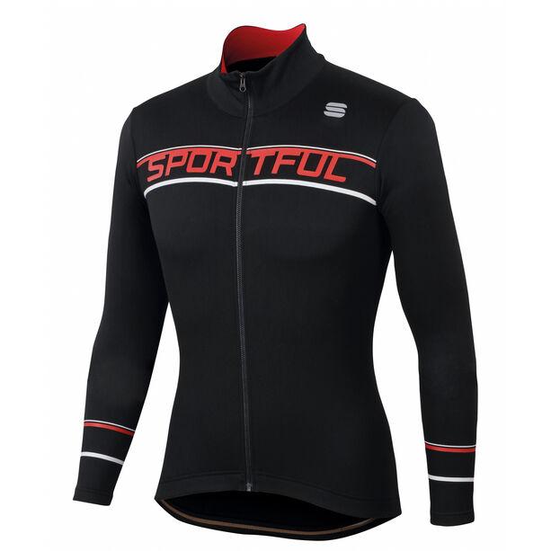 Sportful Giro Langarm Thermal Trikot Herren black
