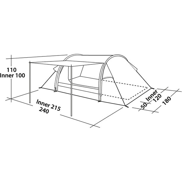 Easy Camp Cyrus 200 Tent