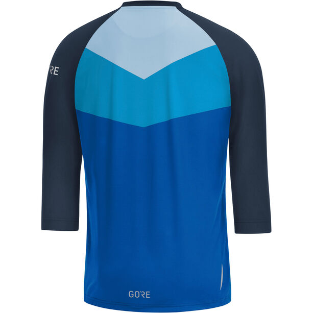 GORE WEAR C5 All Mountain 3/4 Jersey Herren dynamic cyan/marine blue