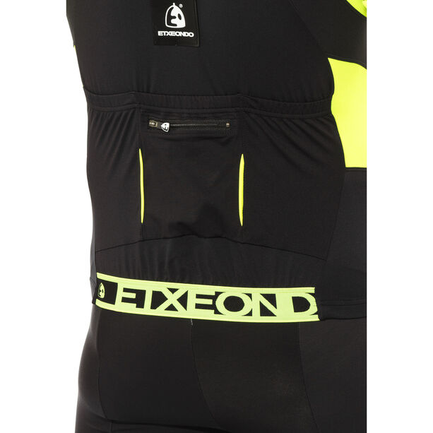 Etxeondo Trier TX SS Jersey Herren black/fluor