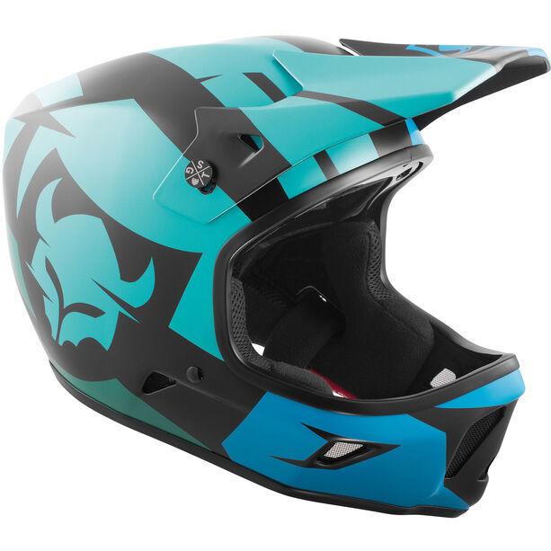 TSG Advance Graphic Design Helmet Herren interval green blue