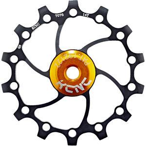 KCNC Jockey Wheel Original SS Bearing Long Teeth 14 Zähne black black
