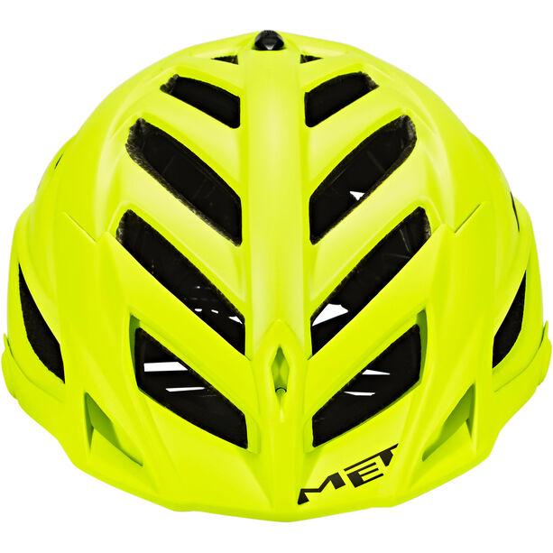 MET Terra Helm matt yellow fluo/black