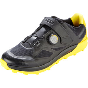 Mavic XA Pro Shoes black/black/yellow mavic