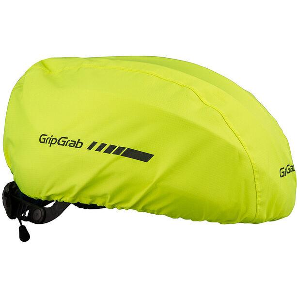GripGrab Waterproof Hi-Vis Helmet Cover fluo yellow