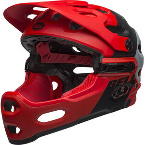 Bell Super 3R MIPS Helmet downdraft matte crimson/black downdraft matte crimson/black