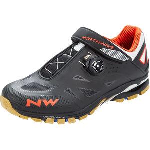 Northwave Spider Plus 2 Schuhe Herren black/off white/orange