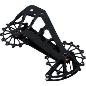 KCNC Jockey Wheel System für MTB SRAM XX1 Eagle 14/16 Zähne SUS bearing black black