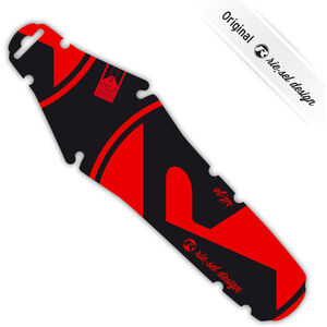 Riesel Design rit:ze Rear Mudguard für Sattel red