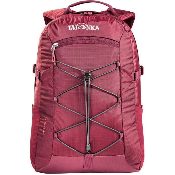 Tatonka City Trail 19 Backpack bordeaux red