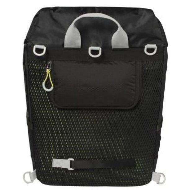 Basil Miles Daypack Gepäckträgertasche 14l black lime