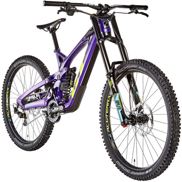 GT Bicycles Fury Expert 2. Wahl gloss purple/chartreuse/cyan