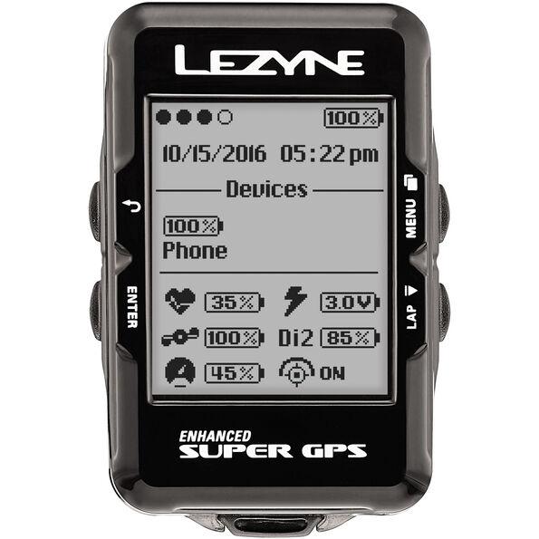 Lezyne Super GPS Fahrradcomputer