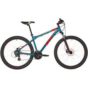 GT Bicycles Aggressor Expert satin slate blue/red/grey bei fahrrad.de Online