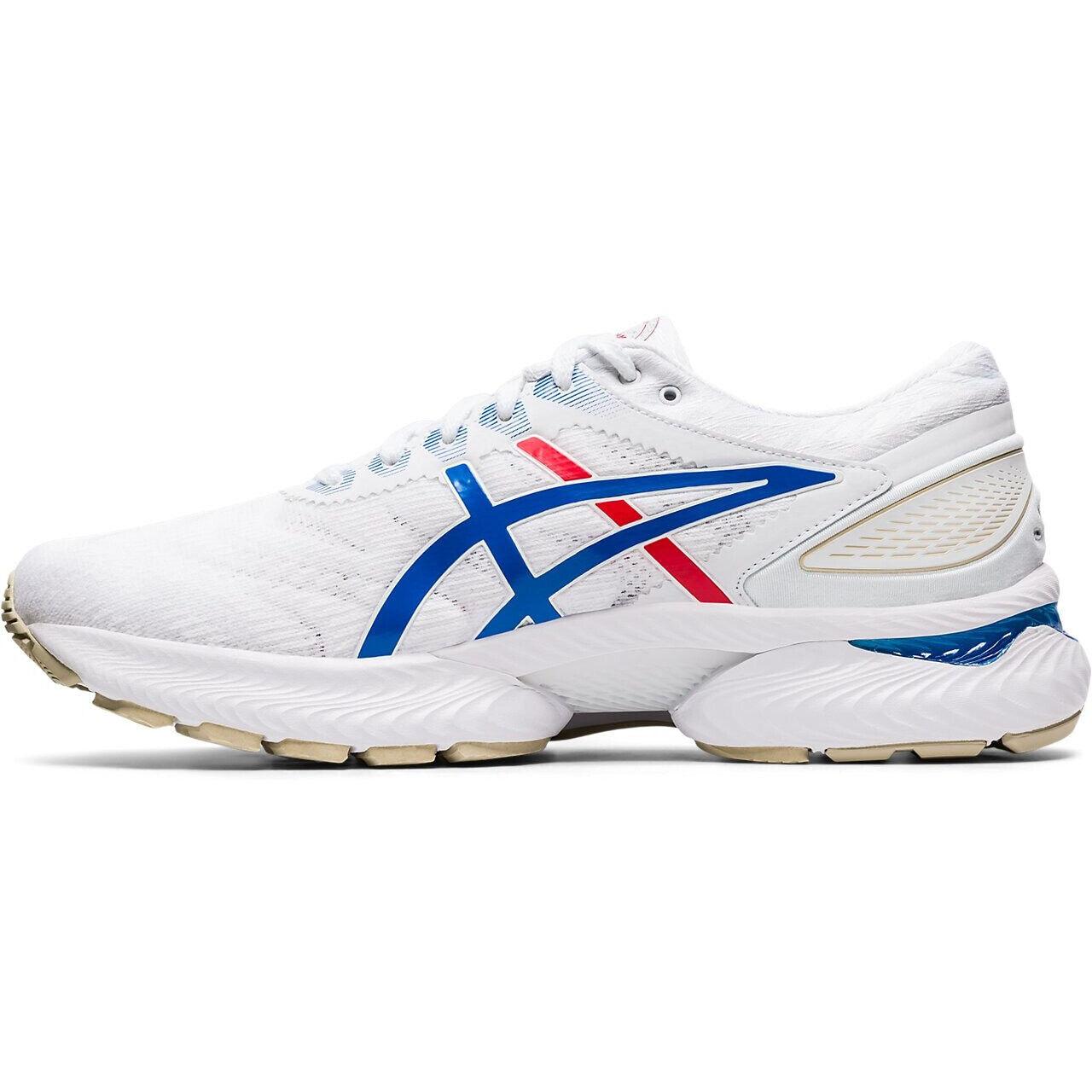 asics Gel Nimbus 22 Retro Tokyo Schuhe Herren whiteelectric blue