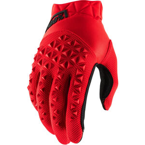 100% Airmatic Gloves red/black red/black