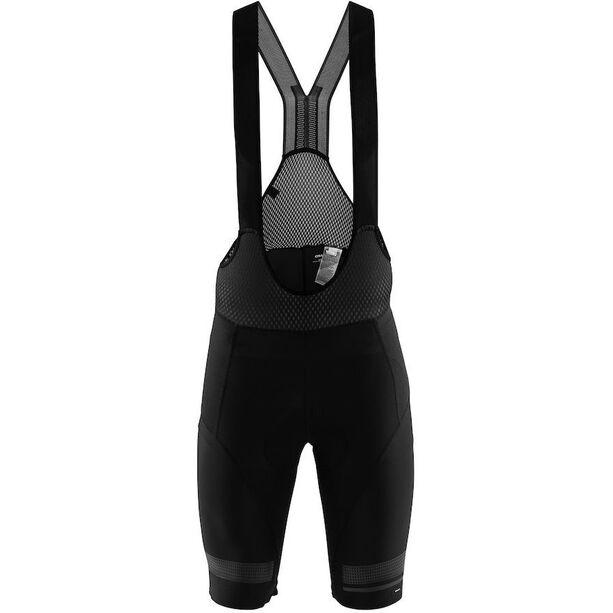 Craft Hale Glow Bib Shorts Herren black