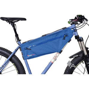 Acepac Zip Frame Bag L blue blue