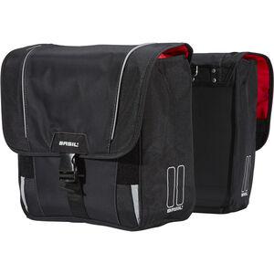 Basil Sport Design Doppel-Gepäckträgertasche schwarz schwarz